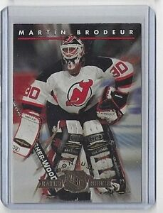 1993-94 MARTIN BRODEUR DONRUSS RATED ROOKIES #10 ~ NEW JERSEY DEVILS