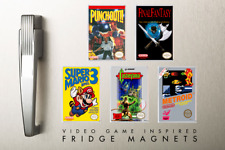 FRIDGE MAGNET - Nintendo NES-Inspired Collection - IDEAL CHRISTMAS GIFT!