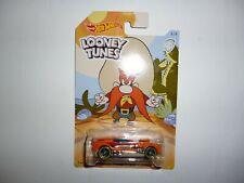 Old 2017 Hot Wheels  Diecast Car - WB  Looney Tunes ..Twinduction.. Yosemite Sam