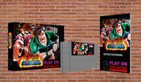 Iron Commando - Super Nintendo (SNES) - Official NEW!