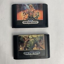 Original Golden Axe I & II (Sega Genesis) 1 & 2 Bundle Lot