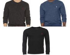 Ralph Lauren Patternless Long Sleeve T-Shirts for Men