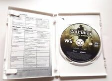 Nintendo Wii Complete Game CALL OF DUTY MODERN WARFARE REFLEX EDITION