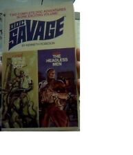 Doc Savage Double 123/124 Devils Of The Deep & The Headless Men VG shape