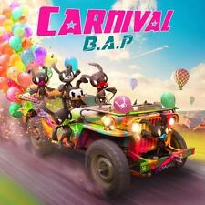 B.A.P [CARNIVAL] 5th Mini Album Normal CD+40p Photo Book+Card BAP K-POP SEALED