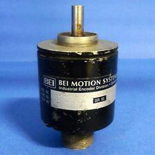 """BEI 5VDC 3/8"""" SHAFT DIA. ENCODER, H25E-SS-2000-ABZC-8830-LED-EM18"""