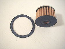 Brand New NOS AC Style Glass Bowl Replacement Fuel Filter Element With Gasket