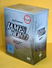 James Bond 007 DVD Edition (22 DVDs)*(2009)Silber Collectors-BOX*NEU+OVP i.Fol.*