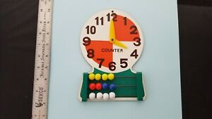 Vintage Clock Teaching Tool