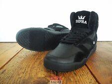 SUPRA FOOTWEAR BLEEKER HI-TOP SNEAKER NEU BLACK GR: US 9 EUR 42.5 SUPRA FOOTWEAR