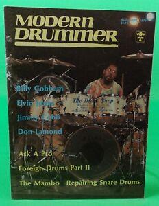 Modern Drummer Billy Cobham Elvin Jones August September 1979 ISSUE #12 No Label