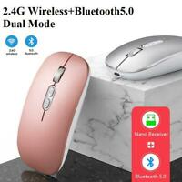 M103 2.4GHz Wireless Cordless Mouse Mice For PC Laptop Computer USB Bluetooth