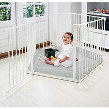 parc et barrière de sécurité Park-A-Kid 5 lati Bianco Baby Dan