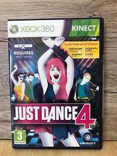 Xbox360 Kinect Just Dance 4 Juego Con Caja Y Manual