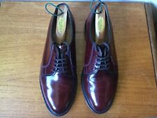 Men's Loake Formal Lace-up Shoe in Burgundy High-Shine Leather