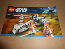 Vintage LEGO Instruction Manual Star Wars 7913