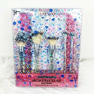 IT Cosmetics Heavenly Luxe Must Haves! Brush Set 6 Piece NIB 100% Authentic