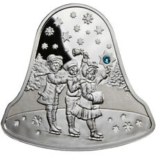 Christmas Bell 2012 Proof Silver Coin 2$ Niue 2012