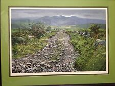 "Peter Ellenshaw ""Road to Coomcallee"" original serigraph signed limited edition"