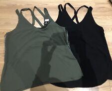 Bnwt Size 16 X 2 Tops Black And Khaki