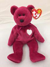 "Ty Beanie Original Baby - 1999 ""Valentina"" Bear - Mint w Mint Tag"