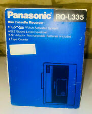 New Panasonic Mini Cassette Recorder Tape Player Model No. RQ-L335