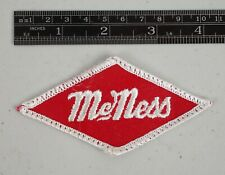 Vintage McNess Feed Seed Company Hat Patch Emblem Unused NOS
