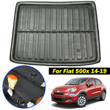 Cargo Liner Boot Trunk Tray Floor Mat Carpet For Fiat 500X Hatch 2014-2019