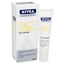 Nivea visage Q10 Plus Eye cream anti-wrinkle skin repair Uv protection 15ml