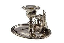 English Sterling Silver Chamberstick Rebecca Emes & Edward Barnard London 1813