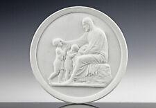 Thorvaldsen Frühes Royal Copenhagen Relief um 1850 Klassizismus Biskuitporzellan