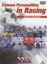 Famous Personalities in Racing Heroes of Horsepower DVD New AND SEALED