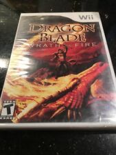 Dragon Blade: Wrath of Fire WII, New Nintendo Wii Brand New Factory Sealed