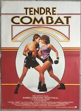 Affiche TENDRE COMBAT Main Event BABRA STREISAND Ryan O'Neal BOXE 40x60cm *
