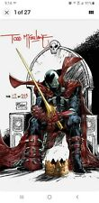 KING SPAWN 1 I 1:250 TODD McFARLANE SIGNED VARIANT CGC CERTIFICATE PRE-SALE 8/25