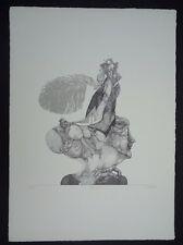 Reiner Schwarz der Hut Lithographie 1967 handsigniert datiert und numm. 57/100
