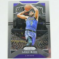 JaVale McGee Panini Prizm 2019-2020 #225 LA Lakers NBA Basketball Sports Card