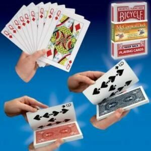 McCombical Prediction - Jumbo Bicycle Magic Trick Card Deck - Easy To Do!