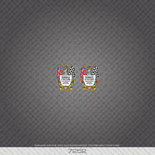 07252 Ribble Bicycle Head Badge Stickers - Decals - Transfers