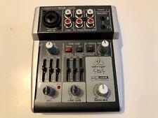 Behringer Xenyx 302usb Mischpult / Mixer ideal für Home Office