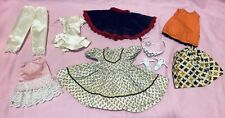 Lot Of Vintage Doll Clothes And Accessories