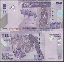 Democratic Republic of Congo 10,000 (10000) Francs, 2006, P-103, UNC
