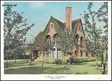 """Héliogravure LE TOUQUET  Villa """" Les Pommiers""""  Architecture (2) 1939"""