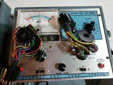 B&K Model 465 CRT tester With Adapters and manual