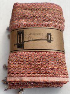 Turkish Cotton Throw| Heavyweight | Textured| Hand-Waived Cotton Throw| Towel
