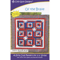 Of the brave quilt pattern - cozy quilt design