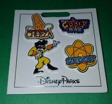 Disney Pin A Goofy Movie Disney 4 Pin Set Booster New On Card