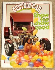 CUSTOM CAR Magazine Feb 1981 - SCOTTISH SHOW - C CAB - T BUCKET - FORD 5 WINDOW