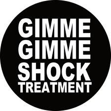 IMAN/MAGNET GIMME GIMME SHOCK TREATMENT . punk ramones joey dee dee dead boys
