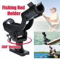 Adjustable Fishing Rod Pole Mount Stand Bracket Holder Kit For Kayak Canoe Boat